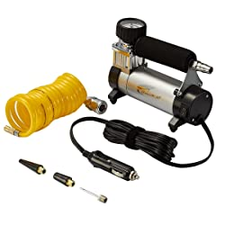 Hausbell Portable Air Compressor Kit Mini Portable DC12V Multi-Use Heavy-Duty Tire Inflator