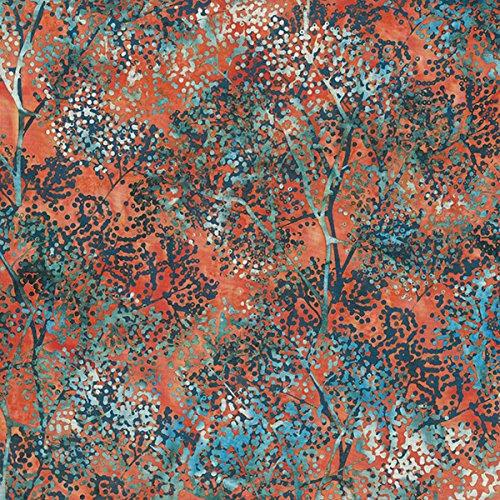 Hoffman Bali Batiks 596 November Dotty Branch