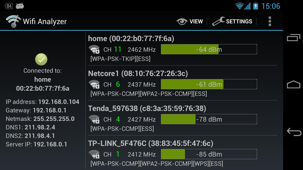 Wi-Fi Analyzer