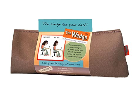 Amazon.com: The Wedge – Alivio De Dolor de espalda, Postura ...