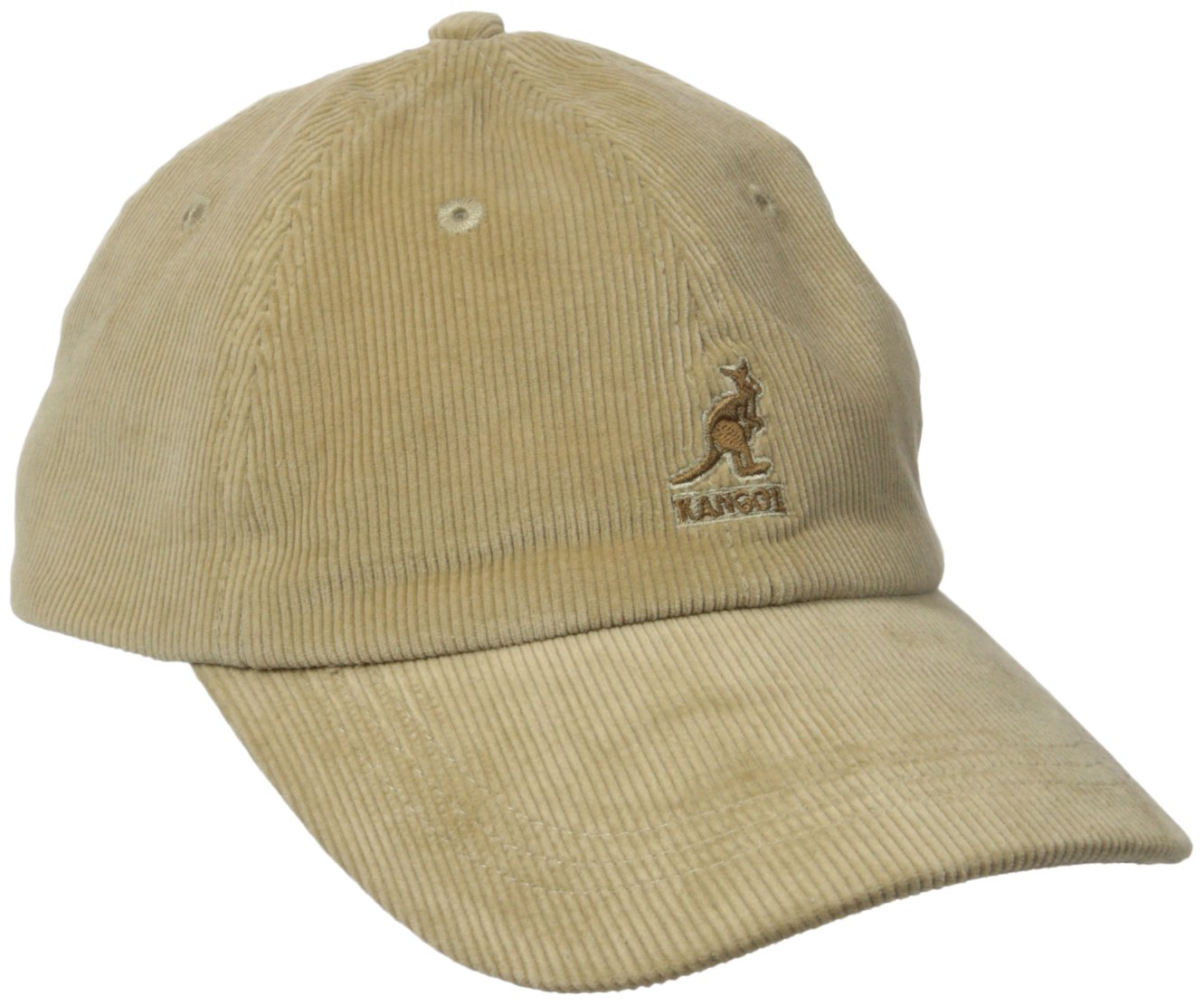Kangol Men's Cord Baseball, Crafted with Fine Corduroy, Beige (One Size Fits Most)