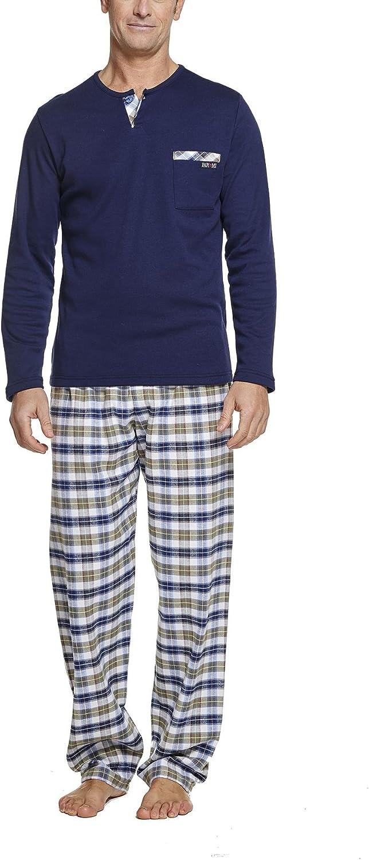 Pijama Hombre Invierno: Amazon.es: Ropa y accesorios