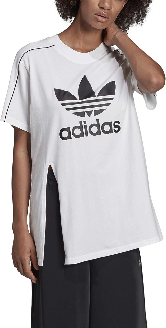 maglia adidas bianca donna