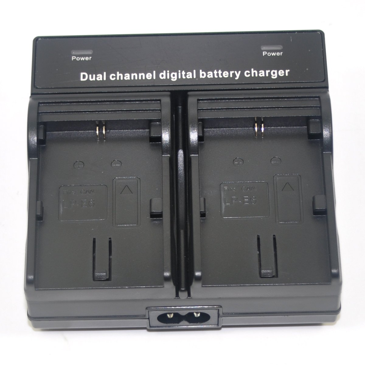 Jiexi Brand New Dual Mains Battery Charger for Canon LP-E6 LP-E6N LC-E6E EOS 5D 6D 7D Mark 2//3//4 EOS 60D 60Da 70D 80D XC10 XC15 Digital Camera Camcorder