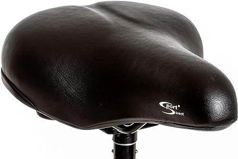 Sport Direct SSA021 - Sillín de Bicicleta para Mujer, Color Negro ...