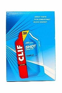 Clifbar Clif Shot Energy Gel - 24 Pack Vanilla, One Size
