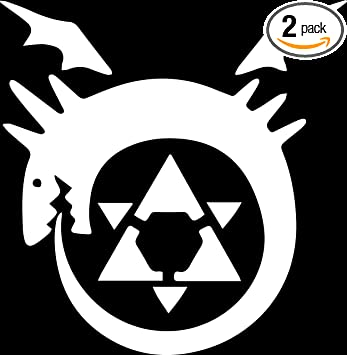 Amazon Angdest Full Metal Alchemist Homunculus Symbol White