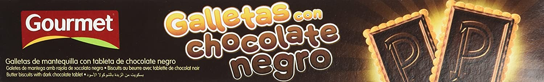 Gourmet Galletas Con Chocolate Negro - 150 g: Amazon.es: Amazon Pantry