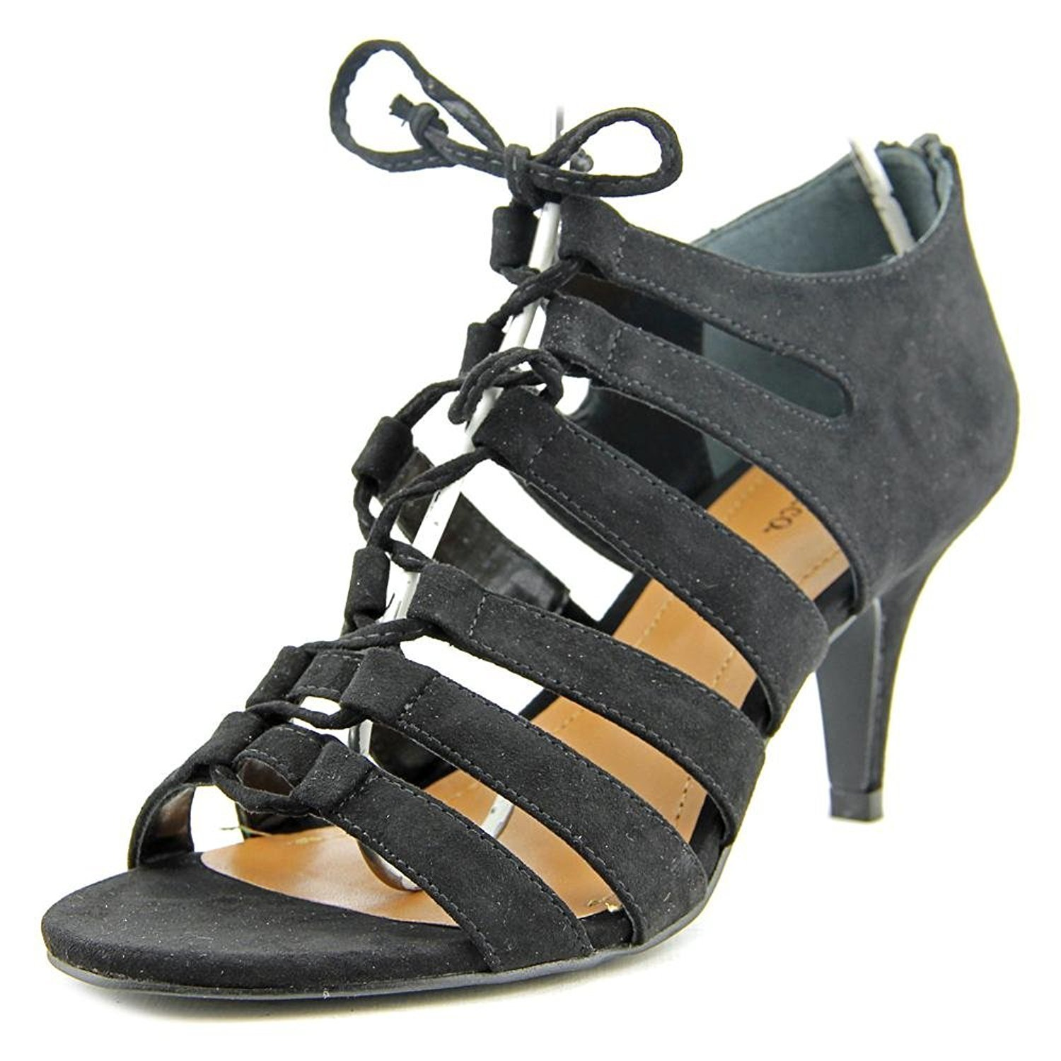 Style & Co. Womens Hannde Open Toe Casual Strappy Sandals, Black, Size 7.5 by Style & Co.