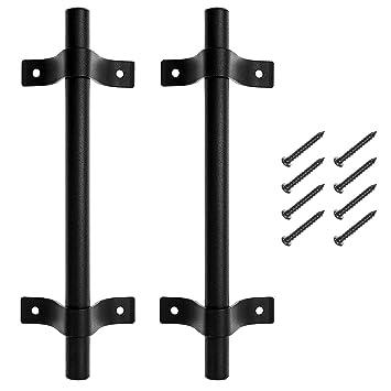 rustikale Griffe Antike T/ürbeschl/äge T/ürgriffe f/ür Scheunent/ür Rustikaler T/ürgriff aus Gusseisen