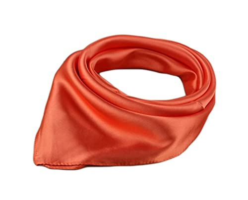 Unisexo Versátil Color Sólido 45% seda Bandana Pañuelo para la cabeza Fulares Bufanda de Cuello (Nar...