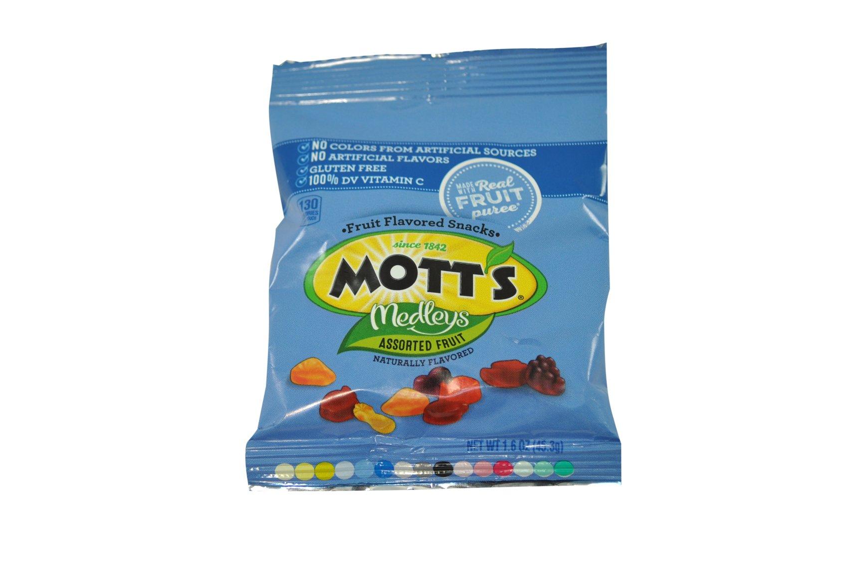 Mott's Assorted Fruit Snacks, 144 Count