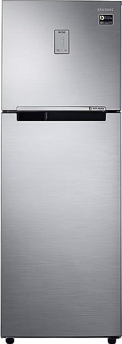 Samsung 275L 3 Star Inverter Frost Free Double Door Refrigerator  RT30T3443S9/HL, Refined Inox  Refrigerators