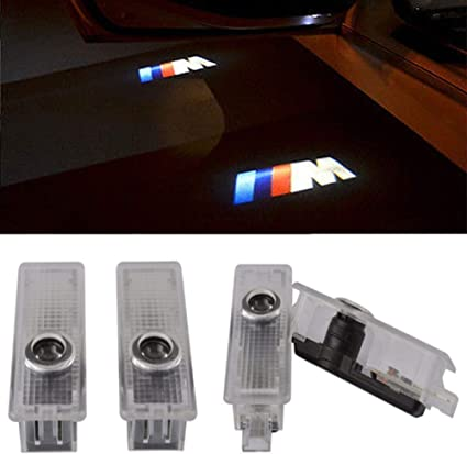 cnautolicht 4 x M Logo///M logotipo CREE LED puerta paso luz de ...
