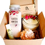 Beautiful Mom To Be Gift Basket, Expecting Mom Gifts, Pregnancy Gift Set, Gift ideas for Mom To Be, Organic Spa Care…