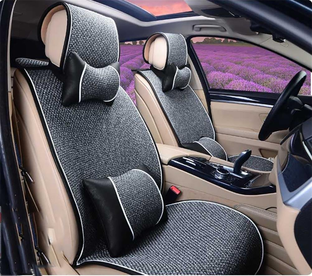 The Comfort breathable bed linen car seat covers front airbags and rear 5 seats full of sentence, of the anti-slip universal support