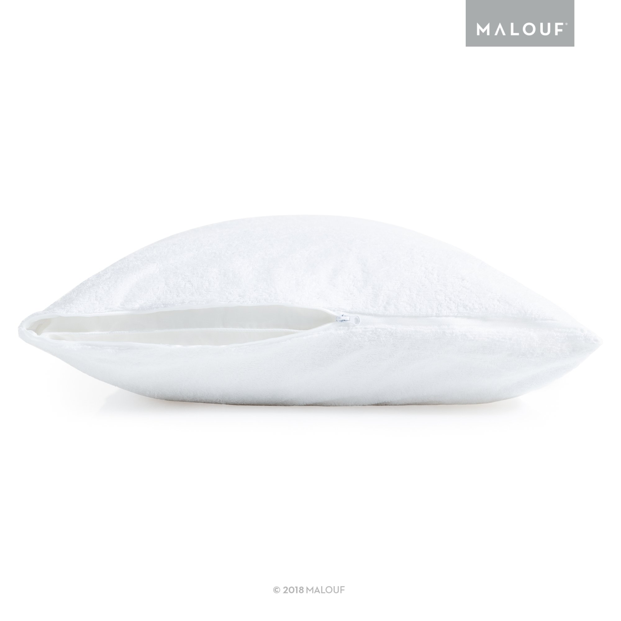 Sleep Tite Hypoallergenic 100% Waterproof Pillow Protector- 15-Year Warranty - Set of 2 - Standard by MALOUF (Image #5)