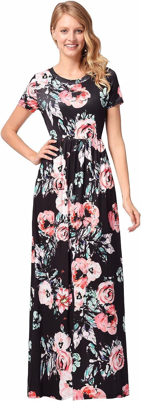 Pink Black Purple Floral Halter Sleeveless Full Length Maxi Dress Sz 8 10 NEW