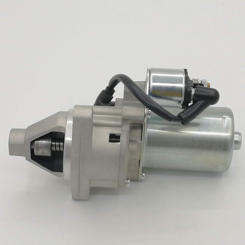 shiosheng Starter Motor & Solenoid for Honda GX340 GX390 GX420 GX 340 390 420 11HP 13HP 16HP Engine Motor 31210-ZE3-013/31210-ZE3-023