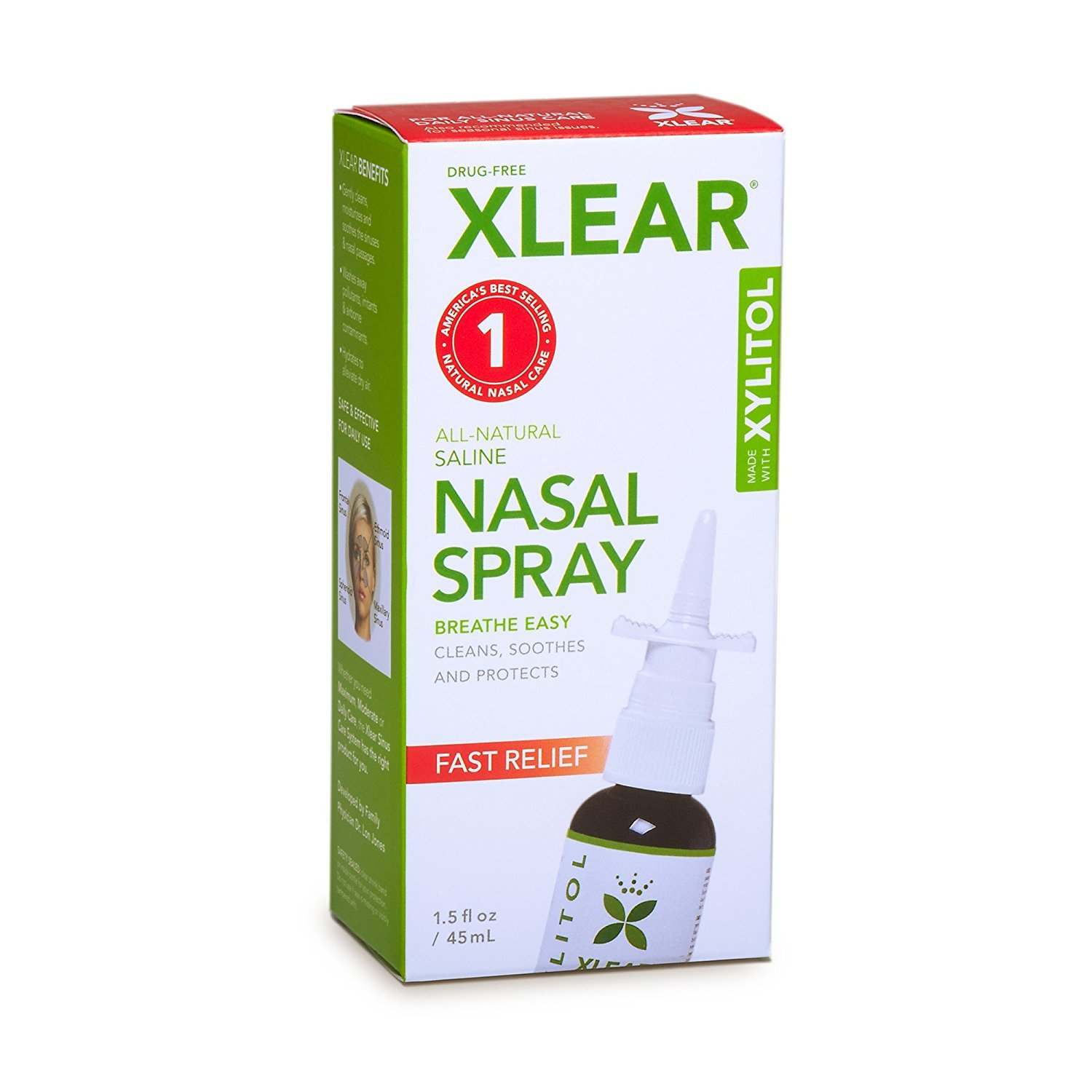 (Pack Of 6) Sinus Care Spray | XLEAR