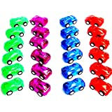 "12 Pack 2"" Pull Back & Let Go Racer Cars - 1 Dozen - Assorted Car Colors- Great For Party Favor, Birthday Theme, Enjoyment.."