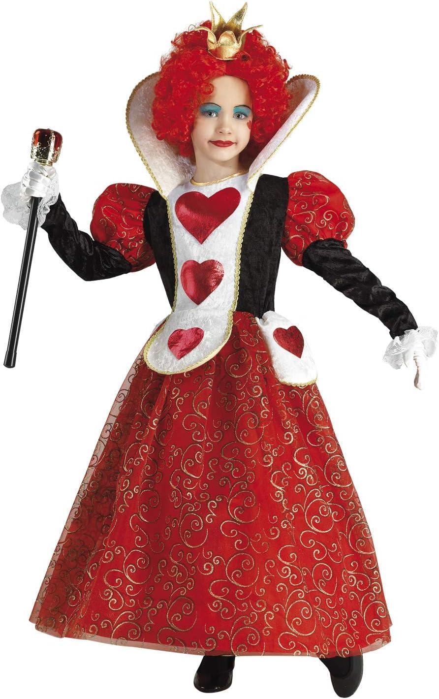 Clown Republic - Disfraz de Reina de los Corazones para niña ...