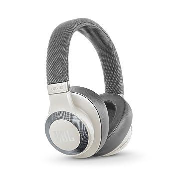 JBL E65 - Auriculares inalámbricos con Bluetooth y cancelación de Ruido Activa (botón como Control Remoto Incorporado, Sonido JBL) Color Blanco: Amazon.es: ...