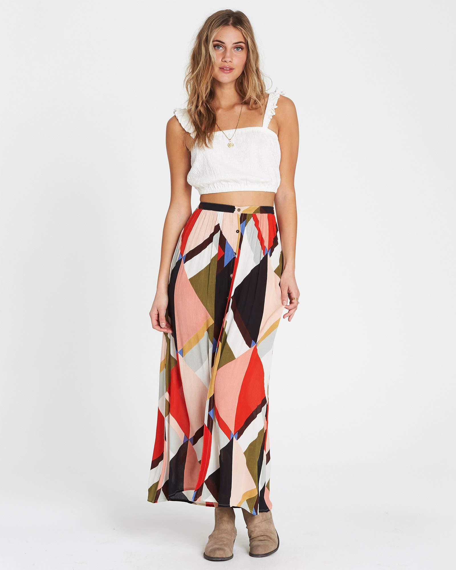 Billabong Women's Honey Money Skirt, Multi, L