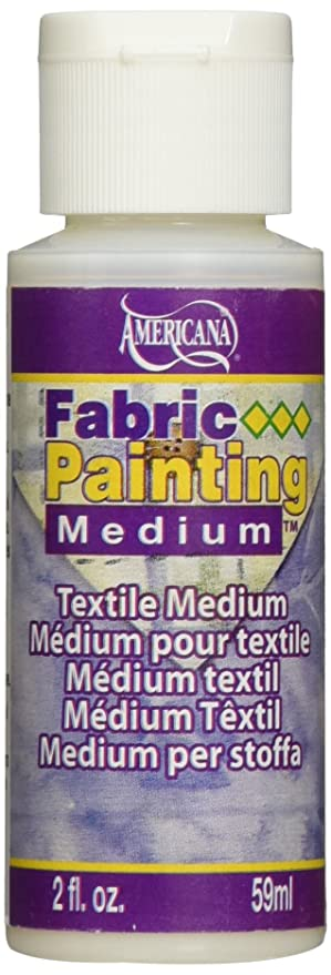 Decoart Das10 3 Americana Mediums Fabric Painting 2 Ounce