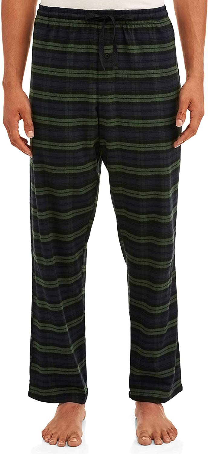 Hanes Men's Stretch Soft Flannel Cotton Sleep PJ Pant