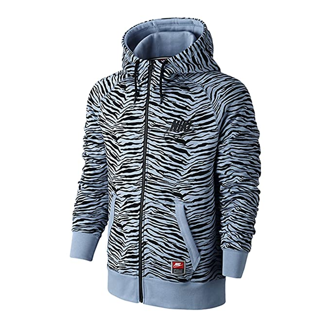 best authentic db809 11e8b Nike Mens Football Knows Full-Zip Hoodie Tiger Stripes Bo Jackson