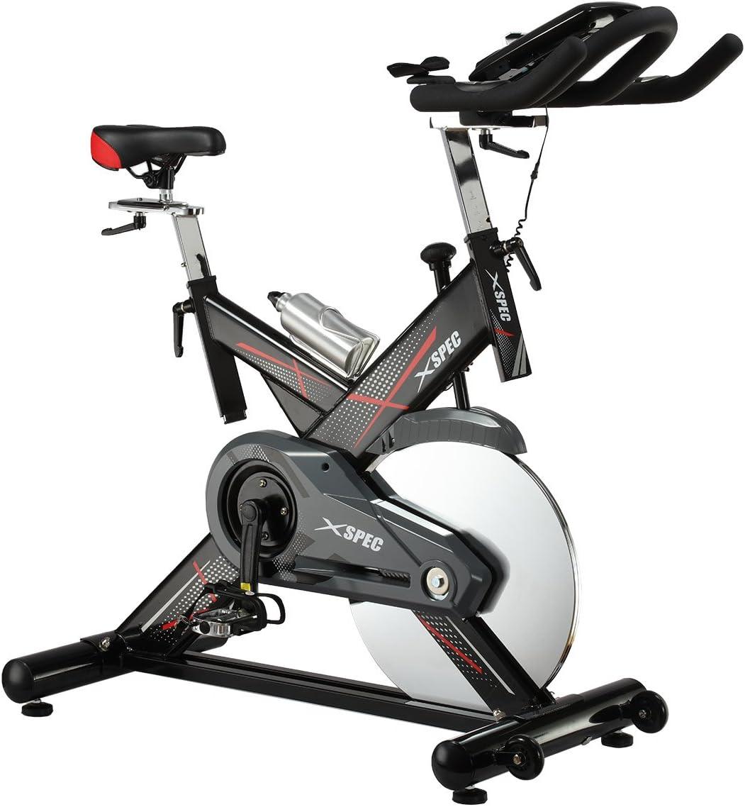 Xspec Pro Cycling Bicicleta estacionaria, 40lb Volante Bicicleta ...