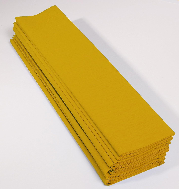 ideal f/ür Schulaktivit/äten marineblau 2 x 0,5m Clairefontaine 901063C Packung mit 10 B/ögen Krepppapier 1 Pack