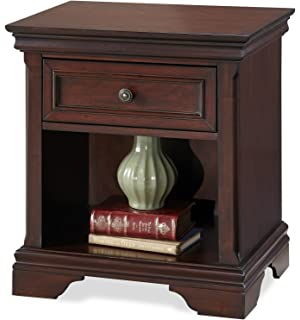 home styles lafayette night stand - Sleigh Bed King