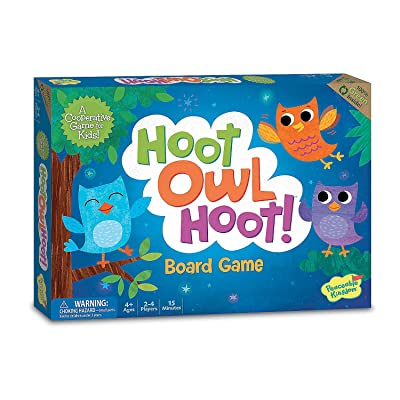 Peaceable Kingdom Hoot Owl Hoot - Cooperative Matching Game For Kids: Toys & Games