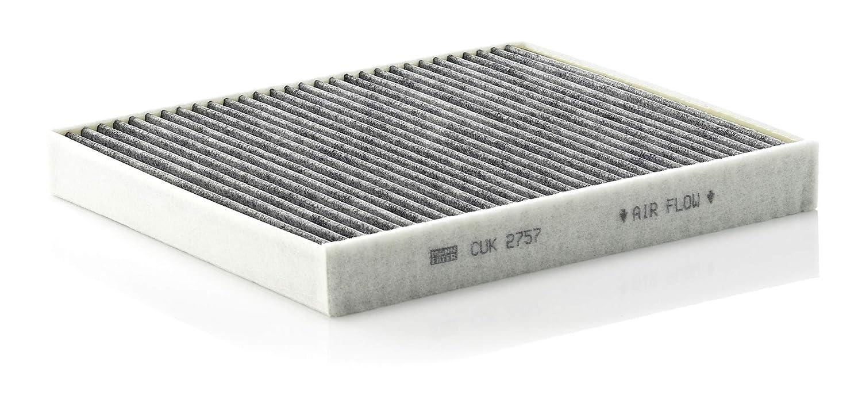 Filtro antipolen con carb/ón activo Para autom/óviles MANN-FILTER Original Filtro de Habit/áculo CUK 2757