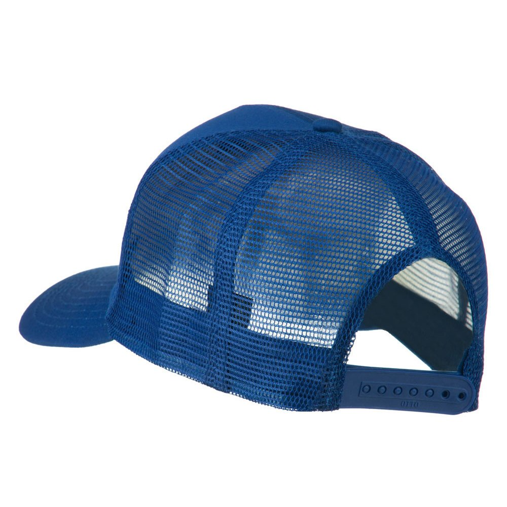 9c41e421f06 US Army Retired Circle Patched Mesh Cap - Royal OSFM Blue at Amazon Men s  Clothing store