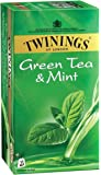 Twinings Green Tea and Mint, 25 Tea Bags