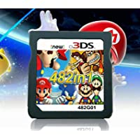 482 in 1 Game Cartridge, DS Game Pack Super Combo Compilation Compatible with DS/NDSL/NDSi/2DS/3DS(Includes XL/LL models)