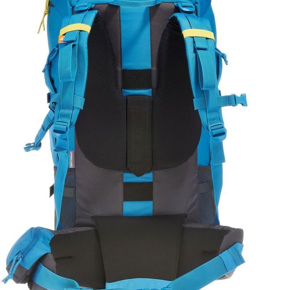 6bb111450 DECATHLON QUECHUA FORCLAZ 60 varios días TREKKING Mochila azul: Amazon.es:  Deportes y