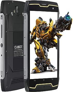 Smartphone Impermeable, CUBOT King Kong CS IP68 Móvil Libre Impermeable 4400mAh 3G Smartphone 5.0 Pulgadas Android 10.0 Dual SIM Quad-Core 13,0MP Cámara 2GB+16GB, Black: Amazon.es: Electrónica