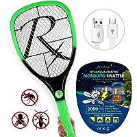 Samoa Matamoscas eléctrico Mosca Raqueta Mosquitos Moscas USB