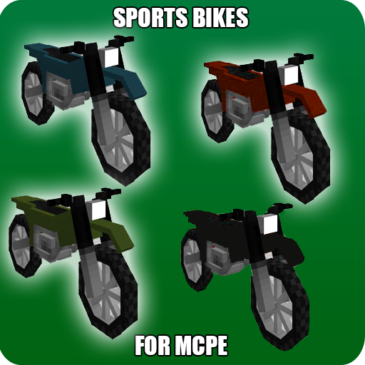 Sports Bikes Addon for MCPE (Best Mod Installer For Minecraft)