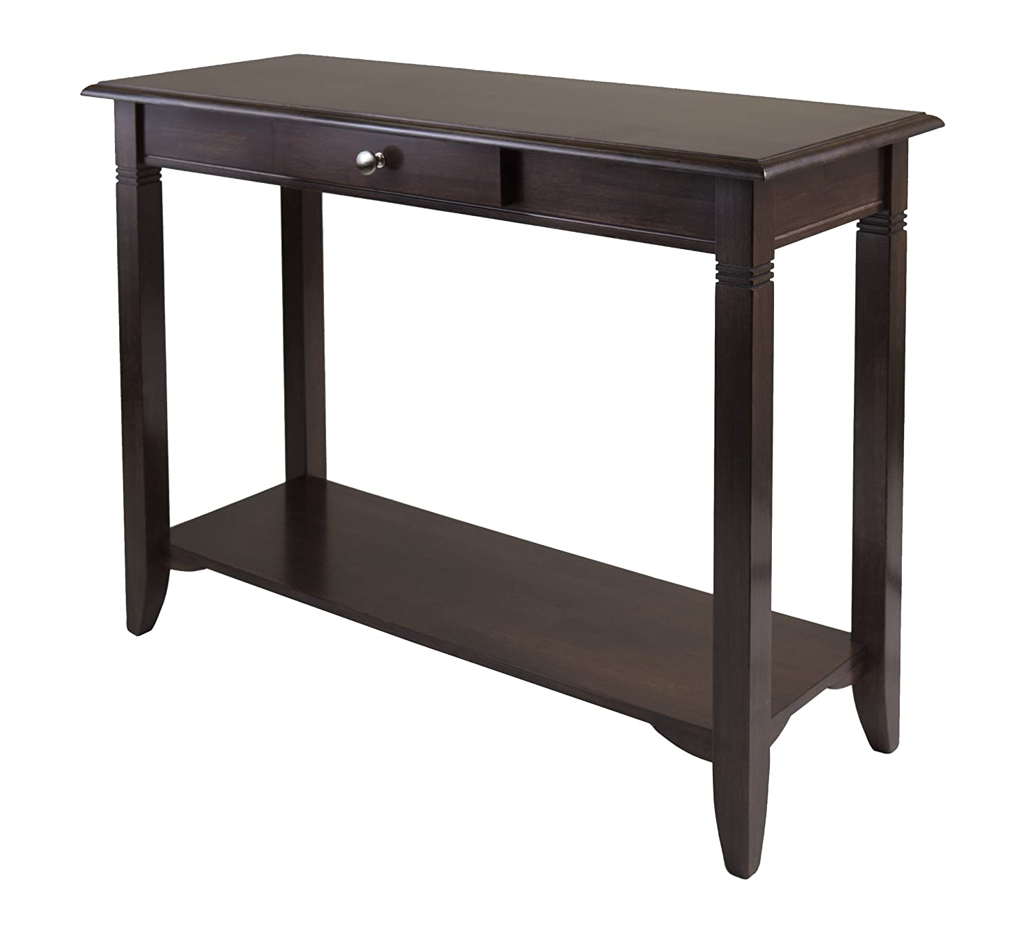 Amazon winsome nolan console table with drawer kitchen dining geotapseo Gallery