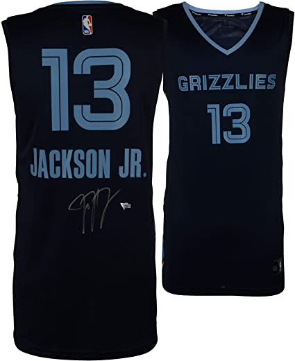 ff5482fd1 Image Unavailable. Image not available for. Color  Jaren Jackson Jr. Memphis  Grizzlies Autographed Fanatics Purple Fastbreak Jersey - Fanatics Authentic  ...