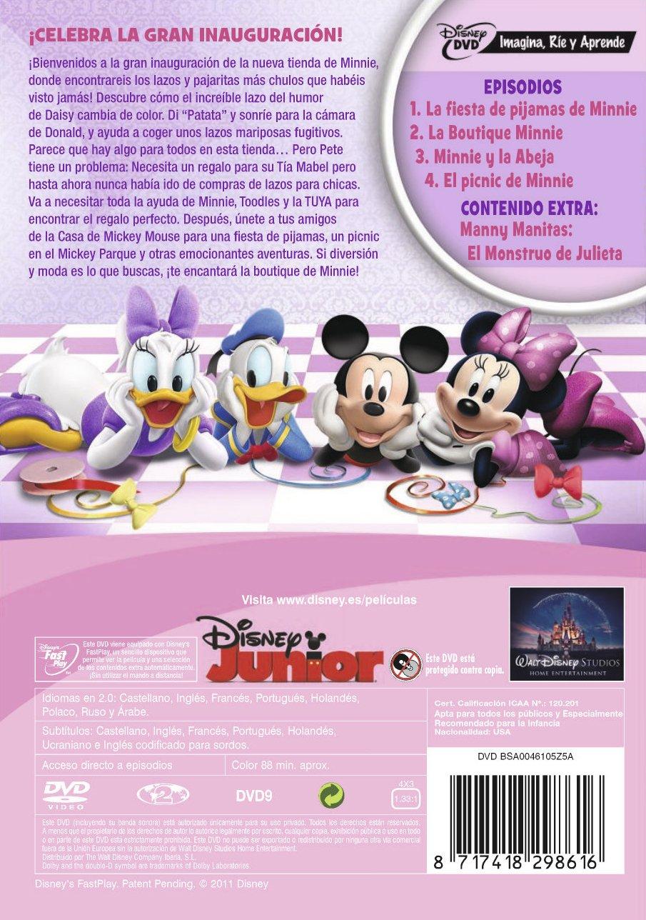 Amazon.com: La Casa De Mickey Mouse : La Boutique De Minnie (Import Movie) (European Format - Zone 2) (2011) Rob Laduc^: Movies & TV