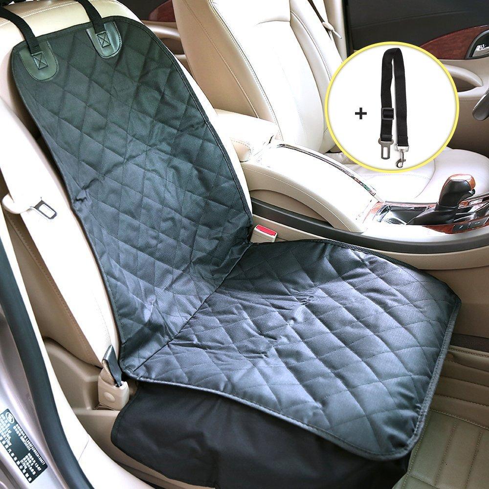 Distianert Autoschondecke mit Auto-Sicherheitsgurt und einer Tragetasche Image