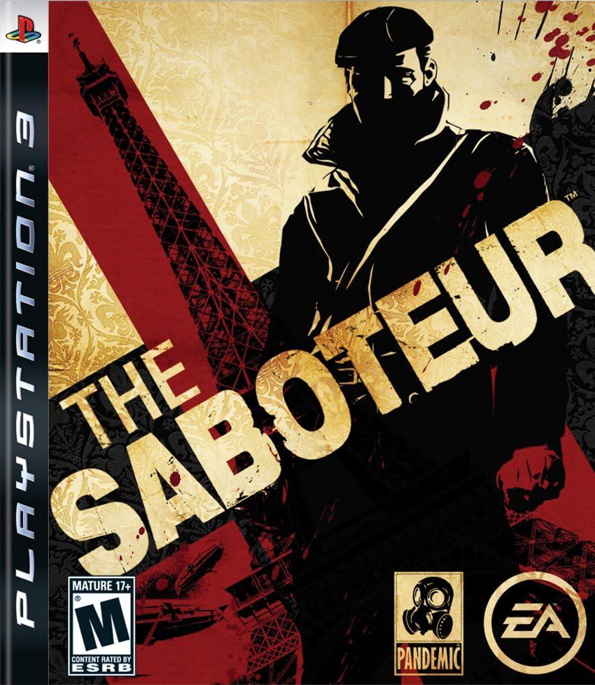 Amazon com: The Saboteur - Playstation 3: Video Games