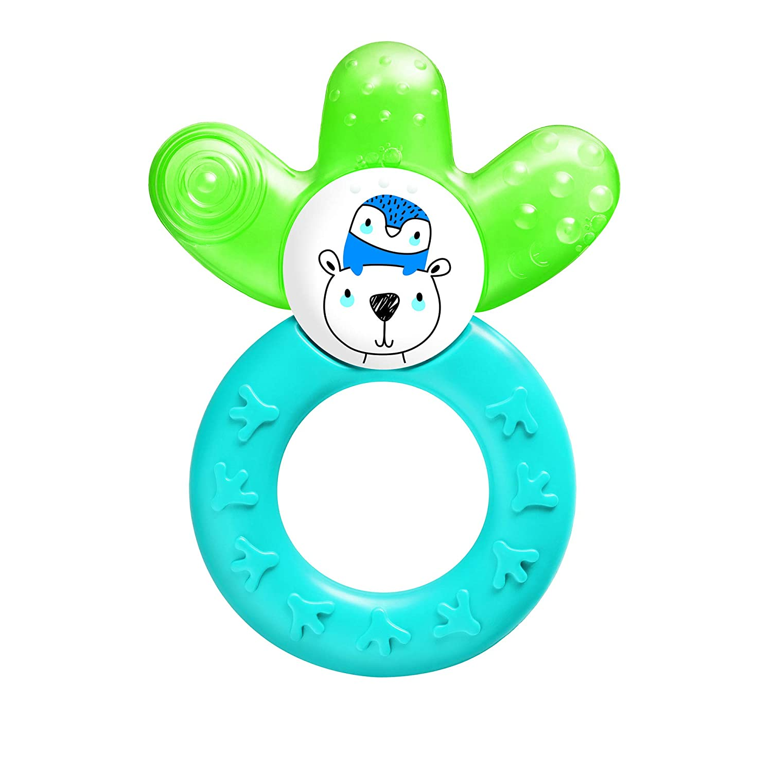 MAM Baby Toys, Teething Toys, Cooler Teether, Boy, 4+ Months, 1-Count