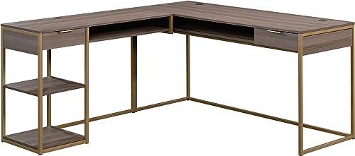 Sauder International Lux L-Shaped Desk